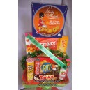 Parcel Lebaran     Pidn 04   Harga Rp. 600.000,-             isi :    1.  MONDE BUTTER COOKIES 365 GR  2. SYRUP...